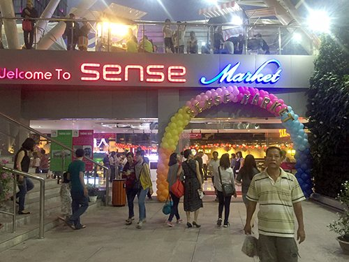 Sense Market is a must-visit shopping district for foreigners